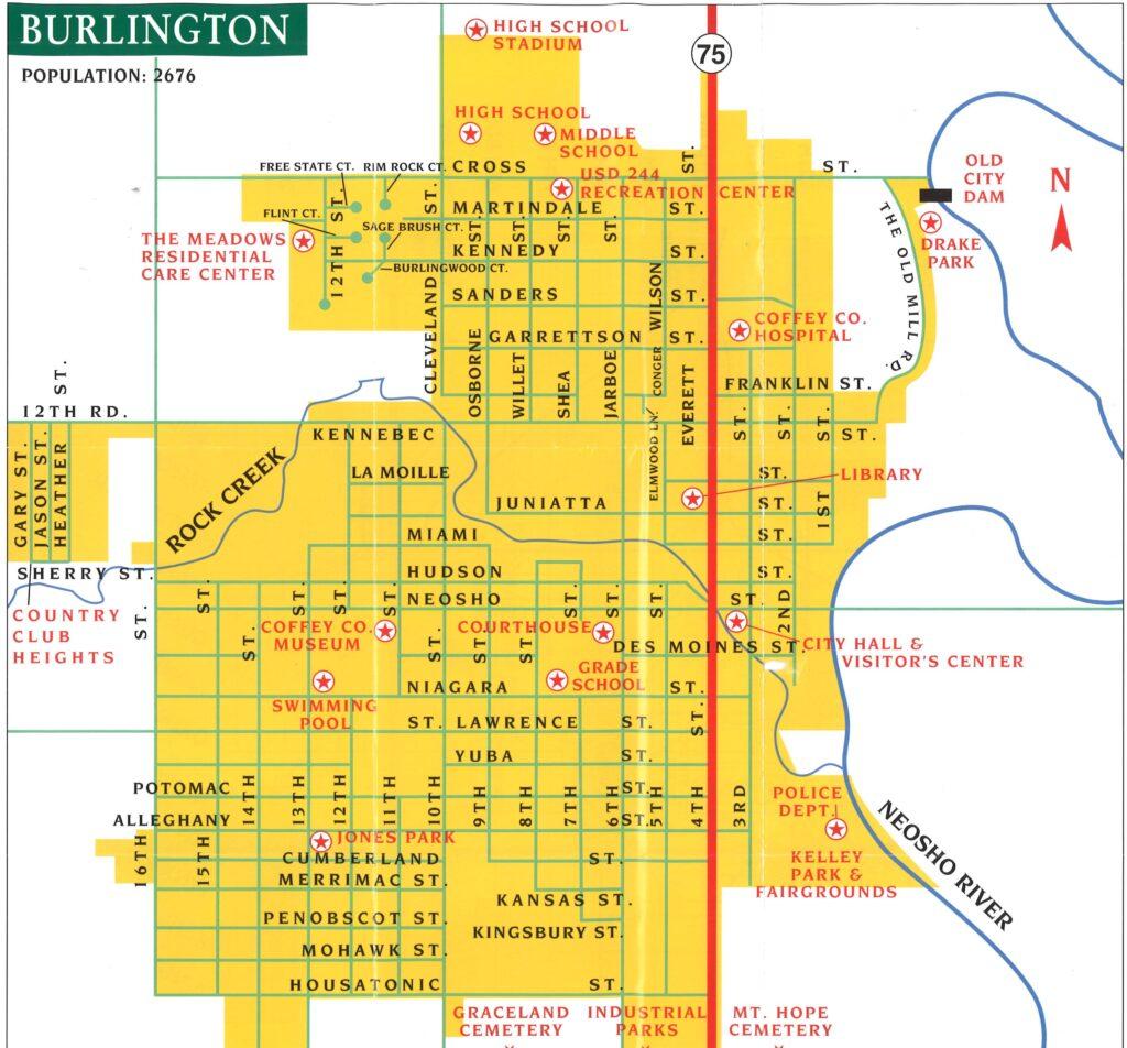 Burlington-Map