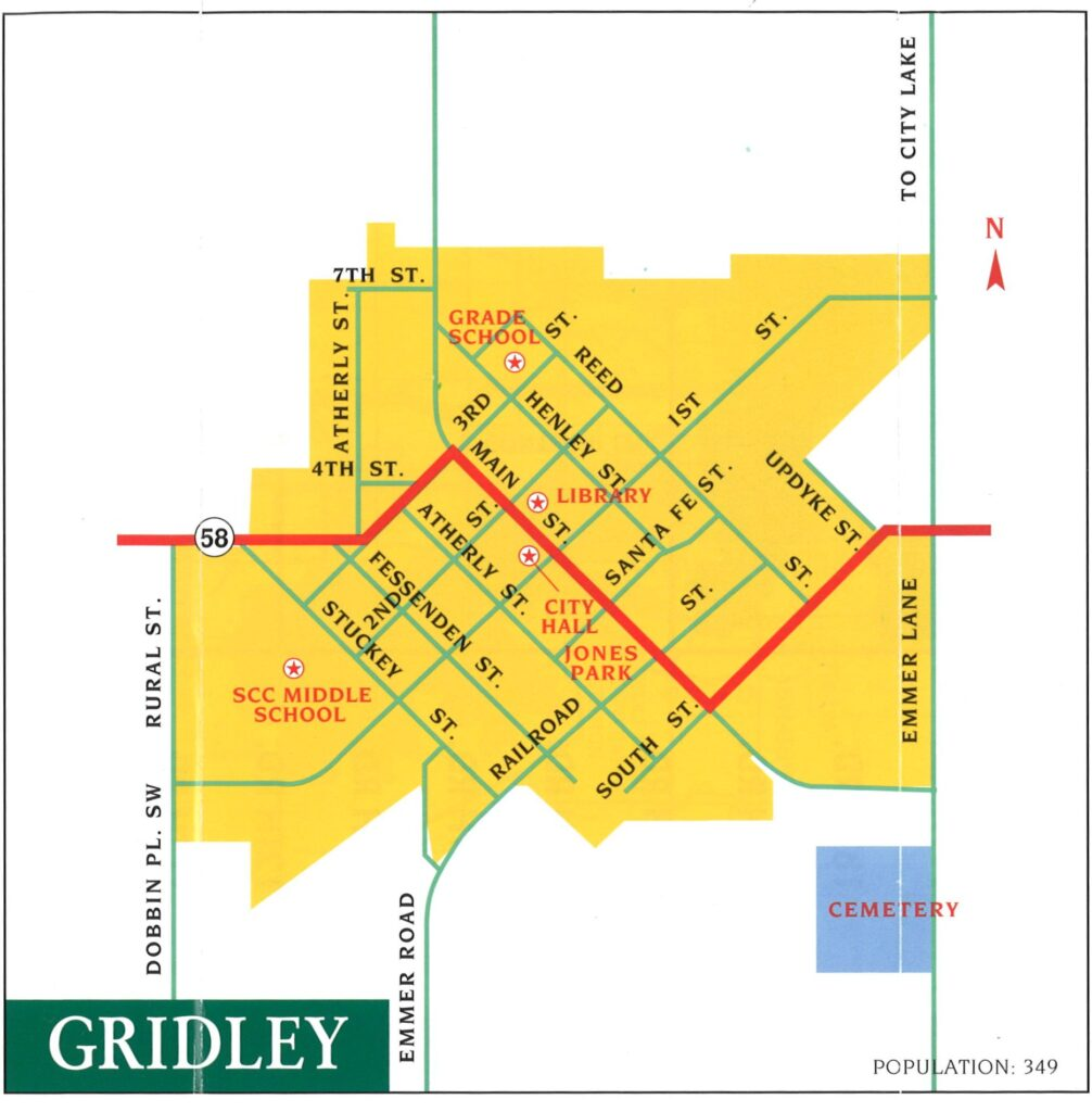 Gridley-Map