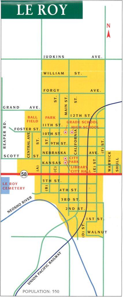 LeRoy-Map